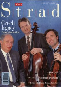 Strad Magazine cover, April 1997