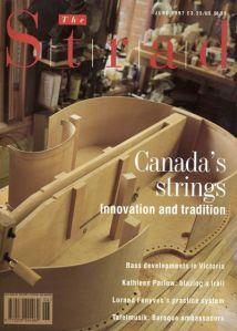 The Strad Magazine Cover June 1997