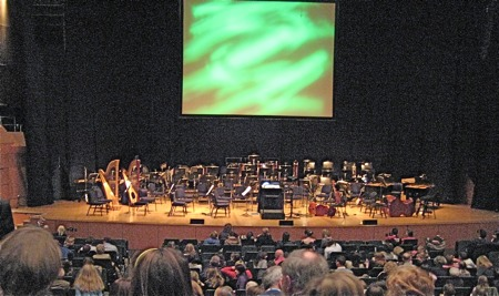 The Mahony Hall, during the performance interval of the Wizard of Oz