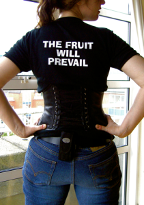 Banana Domme - The Fruit Will Prevail t-shirt