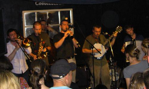 North Strand Klezmer Band - Cobblestone, 25 July, 2008 - Parteeeee!