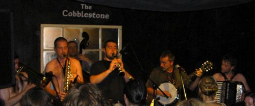 North Strand Klezmer Band - Cobblestone, 25 July, 2008 - Melting
