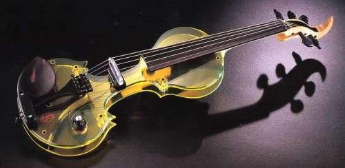 Tucker Barrett Acrylic Luma EV-5 5-String Electric Violin
