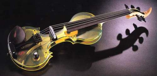 Tucker Barrett Acrylic Luma EV-5 5-String Electric Violin