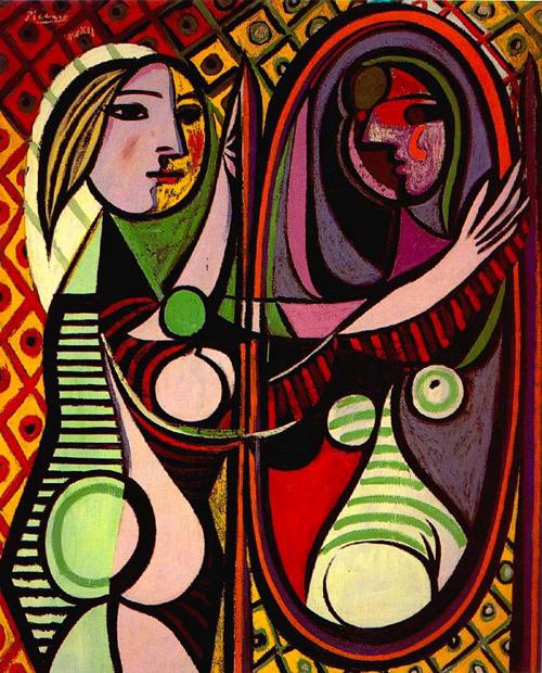 Pablo Picasso - Jeune fille devant un miroir - Boisgeloup, 1932