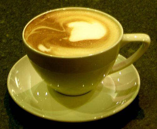 Pretty Coffee Latte Porn
