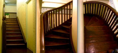 The Winding Stair Stairs