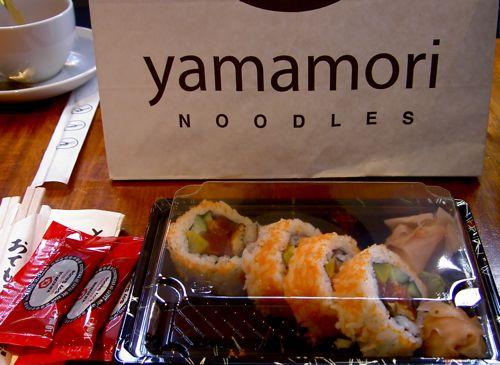 Yamamori Sushi - Futomaki Leftovers In Style - Complete Eatfest Parcel