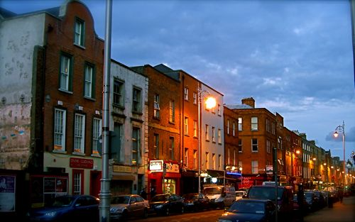 The Northern End Of Capel Street, Dublin