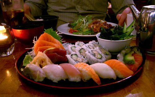 Sushi - Jo Moriwase and Tatsuta Age at Yamamori Sushi, Dublin