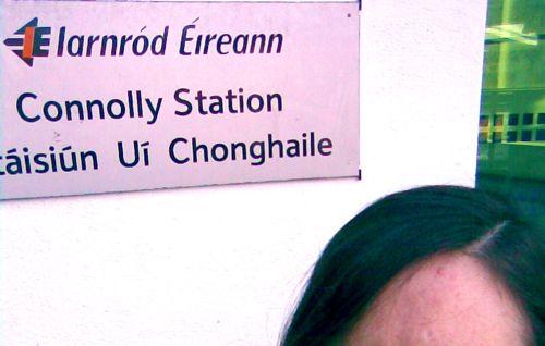 Dublin Connolly railway station Iarnród Éireann