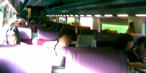 Dublin-Belfast Enterprise passengers