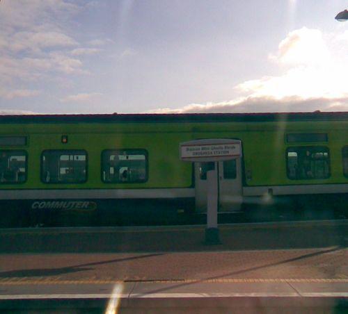 Drogheda Railway station platform