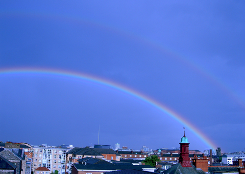 Double Rainbow in Dublin