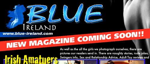 Blue Ireland - Pre-publication web page on 25 February 2010