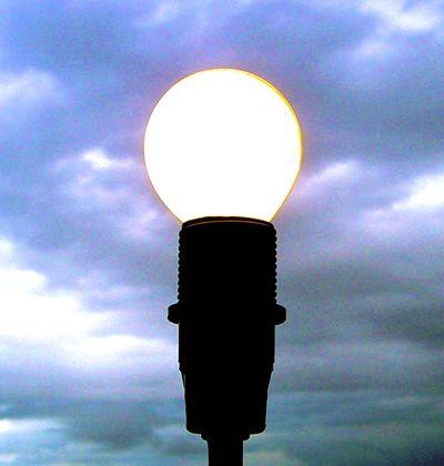 Light Bulb - dinnggggggg!