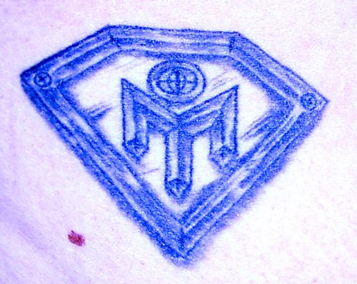 Mensa Diamond Tattoo – Arse Close-Up. By Lady Lubyanka | Published Friday,