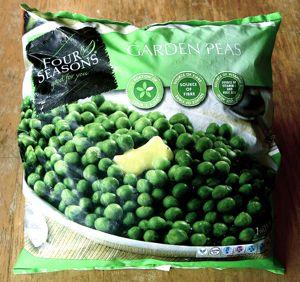 Frozen Peas Bag