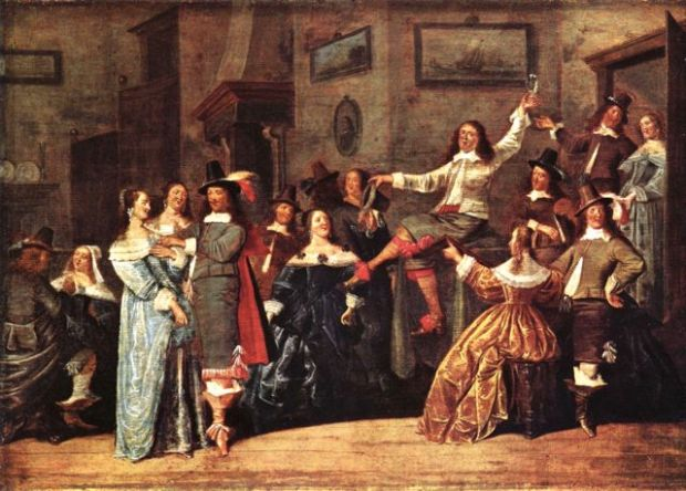 Dirck Hals - Lustige Gesellschaft (1640)