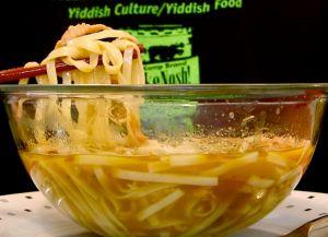 Chinese noodle slurpage