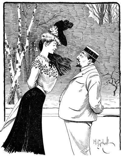 Henri Gerbault - Au Bois - 1907