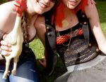 Dublin Pride 2010 - Me and Friend