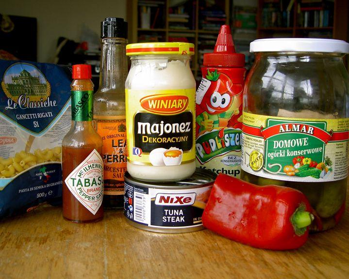 Yummy easy tuna thing - ingredients