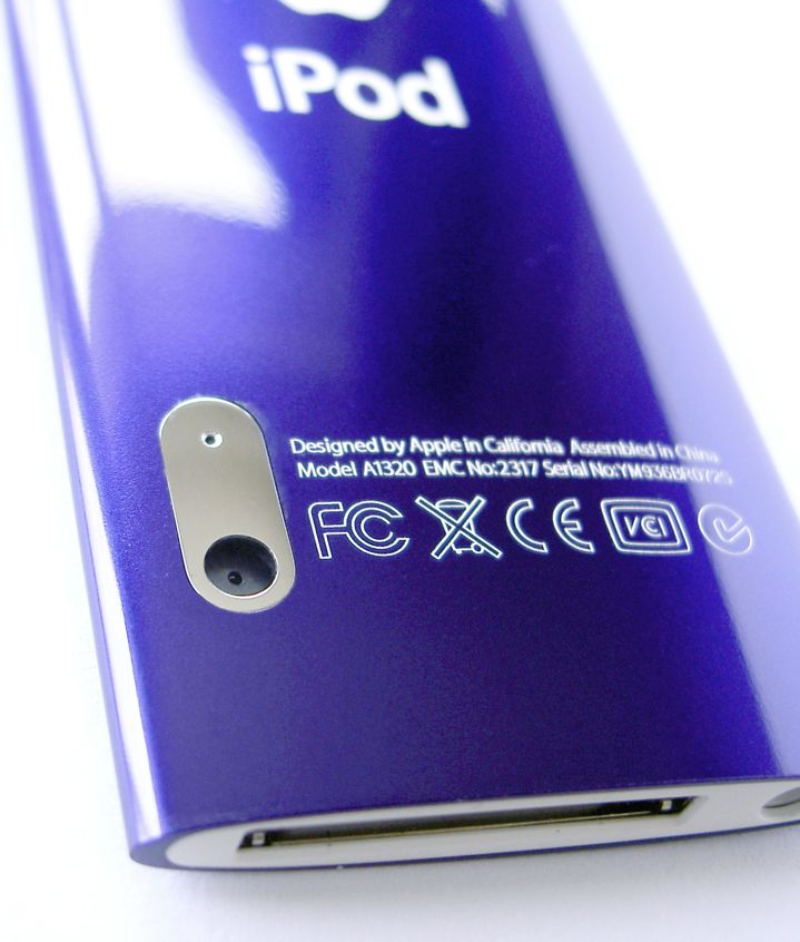 iPod Nano 5G Purple - Camera View