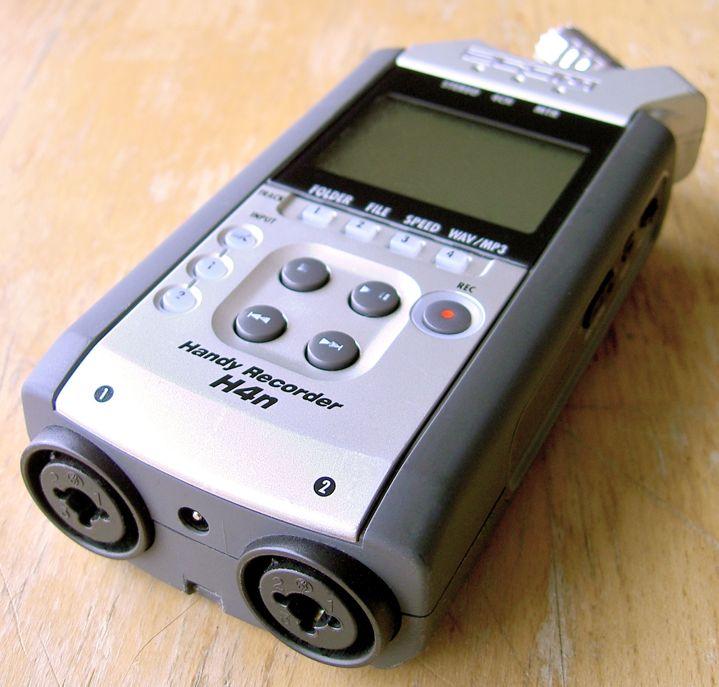 Samson Zoom H4n Digital Audio Recorder