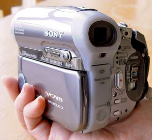 Sony DCR-HC90E MiniDV Video Recorder