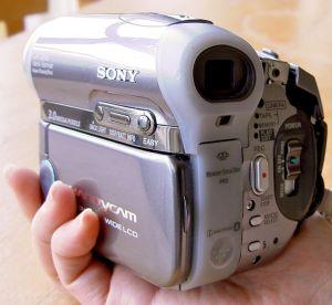 Sony DCR-HC90E MiniDV Video Recorder