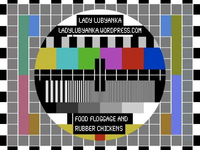 Customised television test pattern card